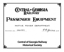 1911 Passenger Diagram Book
