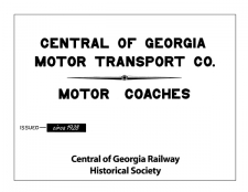 1928 Motor Coaches Diagram Book