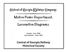 1944 Locomotive Diagram Book