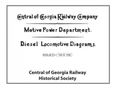 1958 Diesel Diagram Book
