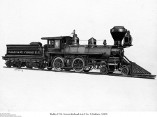 Print of Wadley & Mt. Vernon Railroad No. 3